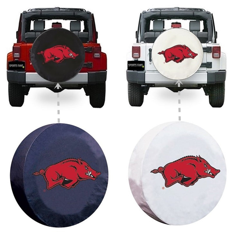 Arkansas Razorbacks Spare Tire Cover