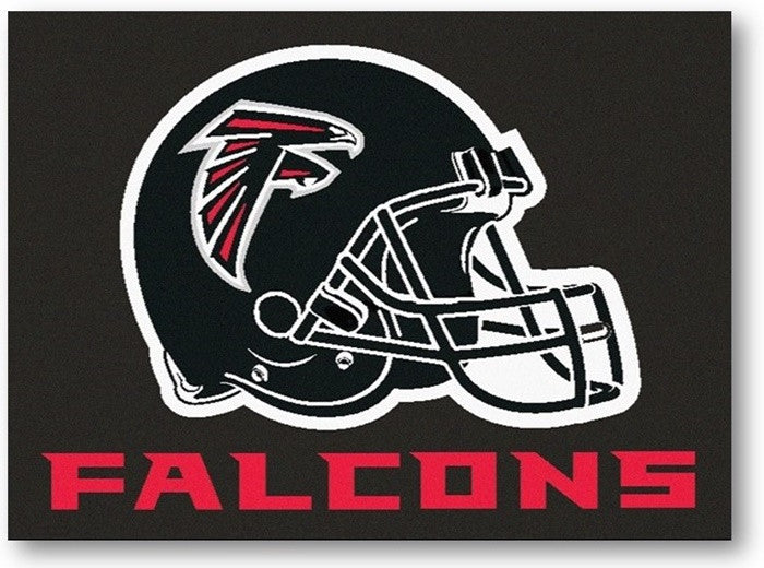 Atlanta Falcons Black NFL All-Star Mat