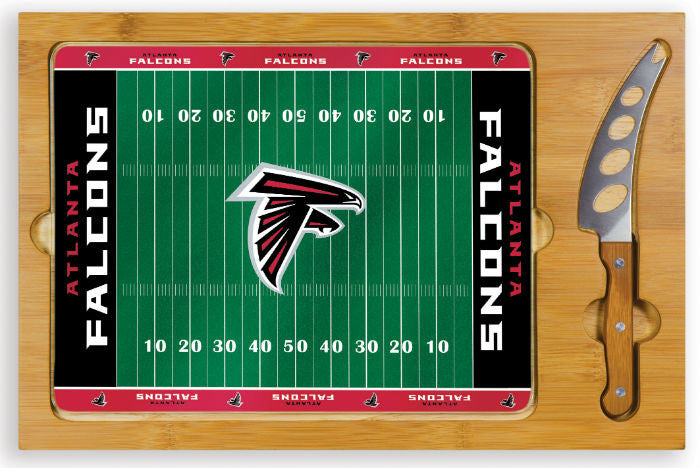 Atlanta Falcons NFL Icon Cheese Board - Sports Fans Plus