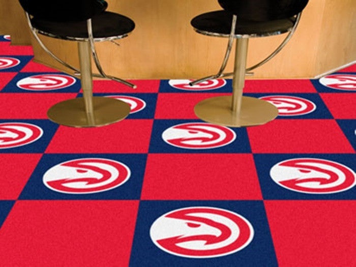 Atlanta Hawks NBA Carpet Tiles - Sports Fans Plus