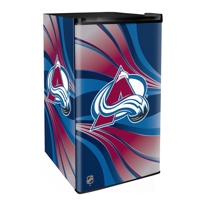Colorado Avalanche NHL Primary Counter Height Refrigerator