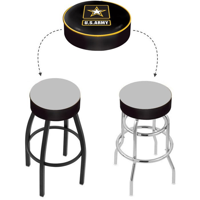 US Army Bar Stool Seat Cover - Sports Fans Plus - 1