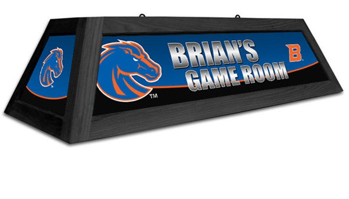Boise State Broncos Customizable Game Table Lamp - Sports Fans Plus