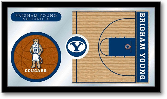 Brigham Young Cougars Basketball Team Sports Mirror
