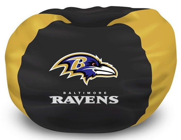 Baltimore Ravens NFL Bean Bag Chair - Sports Fans Plus