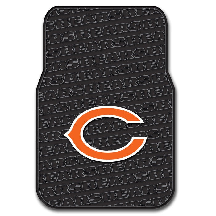 Chicago Bears NFL Car Floor Mats - Sports Fans Plus