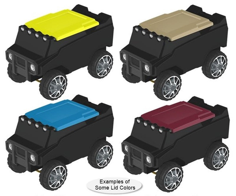Black RC Rover Cooler