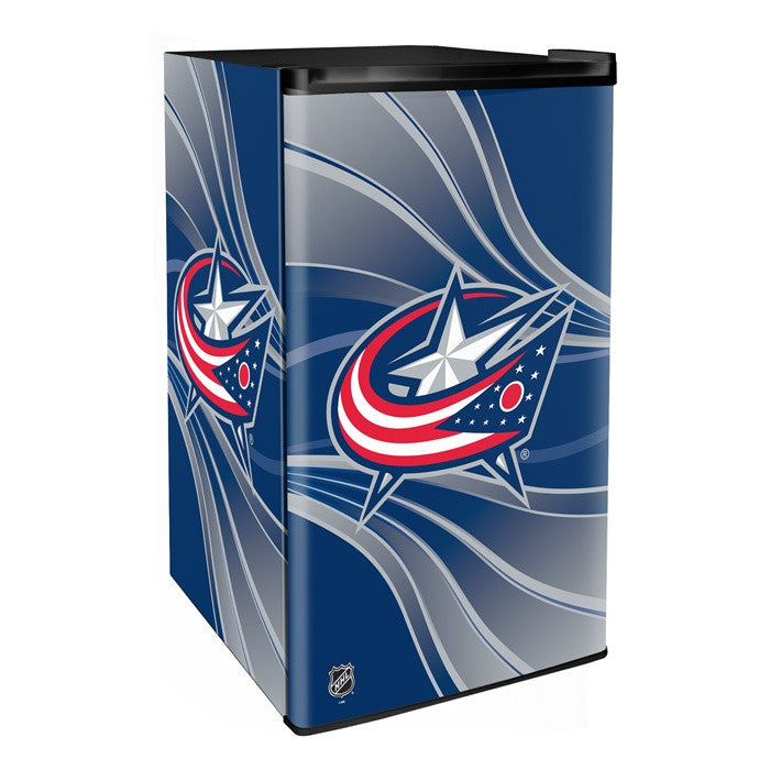 Columbus Blue Jackets NHL Primary Counter Height Refrigerator