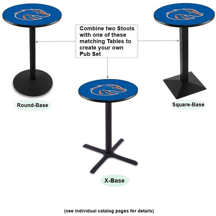 Boise State Broncos Matching Tables