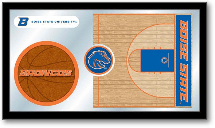 Boise State Broncos Basketball Team Sports Mirror
