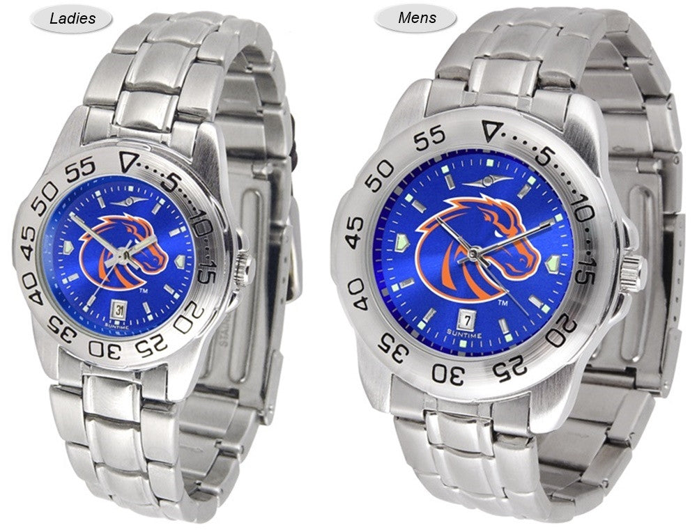 Boise State Broncos Sport Steel AnoChrome Watch