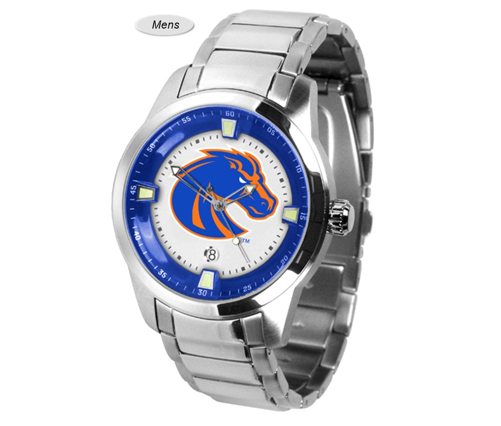 Boise State Broncos Titan Steel Watch