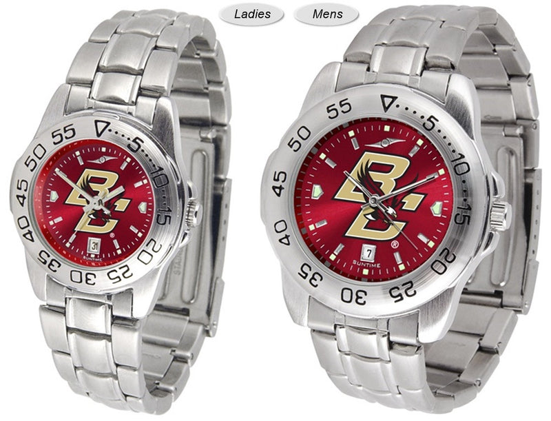 Boston College Eagles Sport Steel AnoChrome Watch