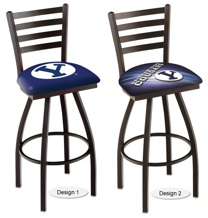 Brigham Young Cougars Ladder Back Bar Stool