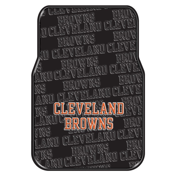 Cleveland Browns NFL Car Floor Mats - Sports Fans Plus