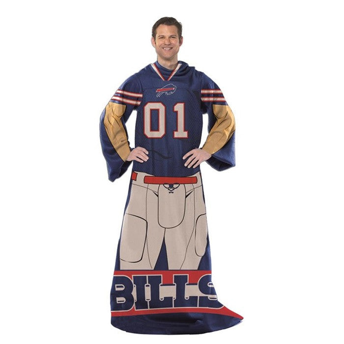 Buffalo Bills NFL Adult Comfy Throw - Sports Fans Plus