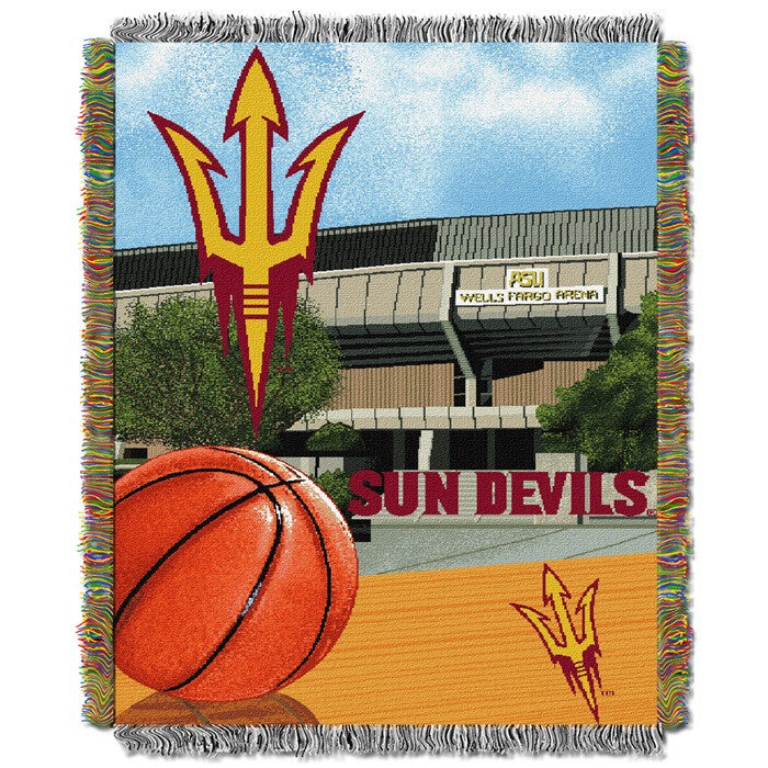 Arizona State Sun Devils Home Field Tapestry Throw - Sports Fans Plus