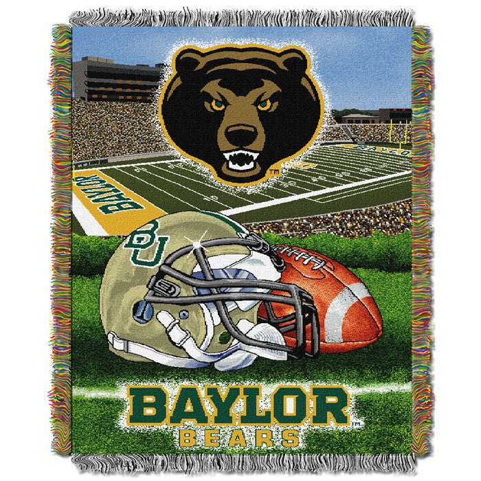 Baylor Bears Home Field Tapestry Throw - Sports Fans Plus