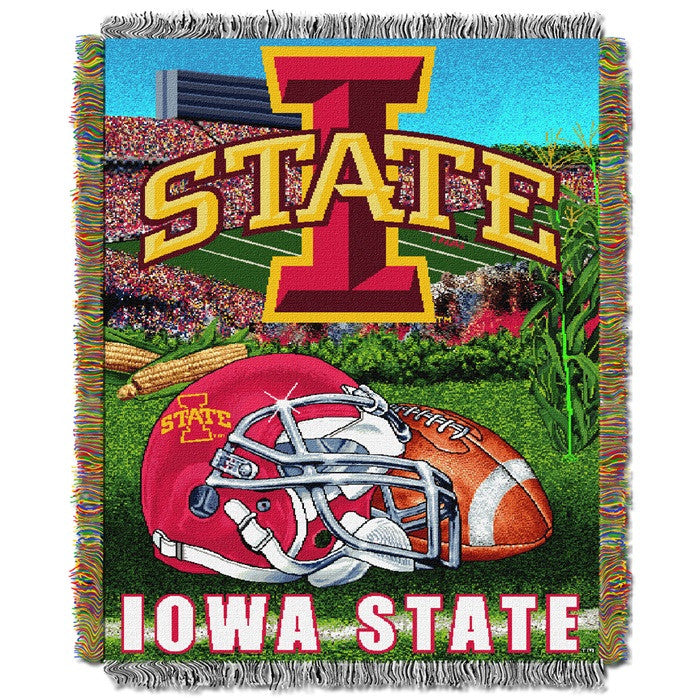 Iowa State Cyclones Home Field Tapestry Throw - Sports Fans Plus