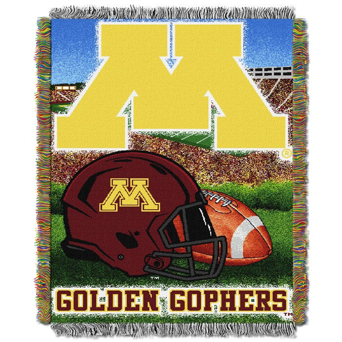 Minnesota Golden Gophers Home Field Tapestry Throw - Sports Fans Plus