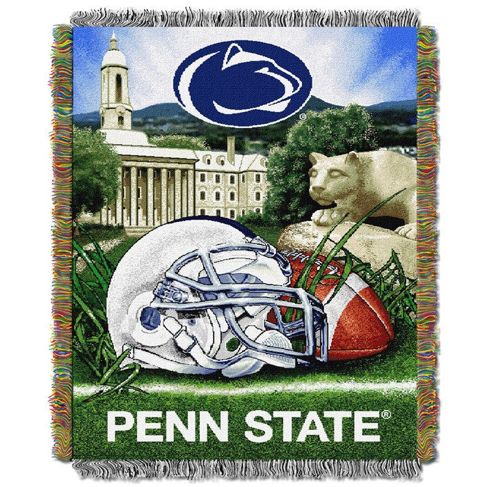 Penn State Nittany Lions Home Field Tapestry Throw - Sports Fans Plus