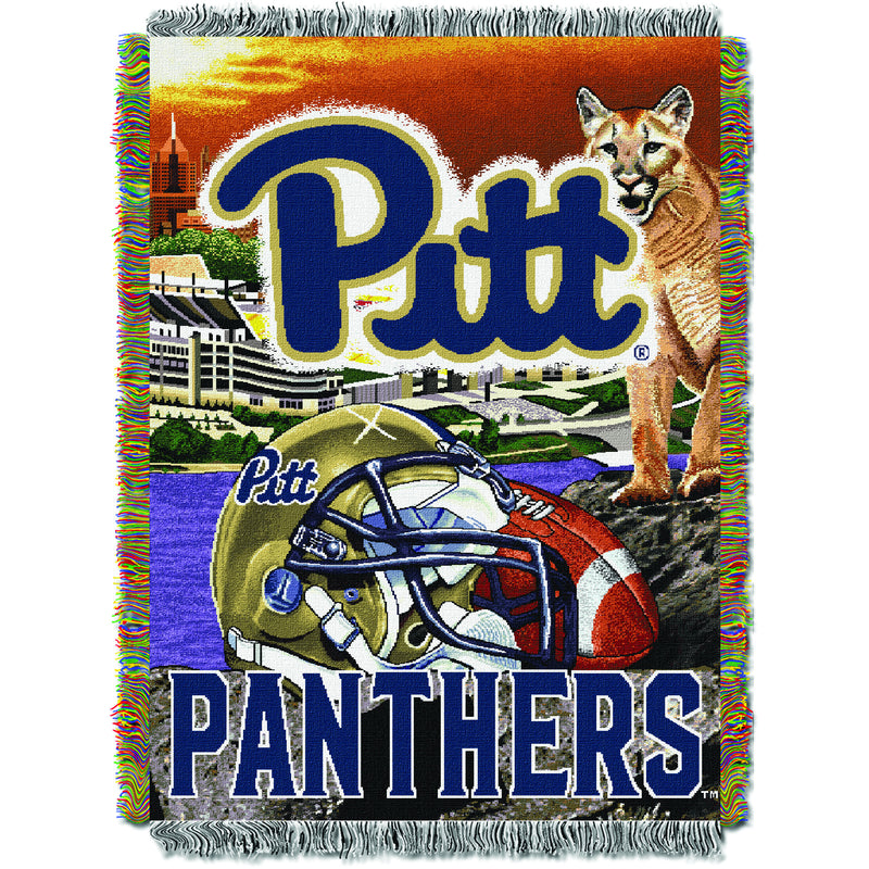 Pitt Panthers Home Field Tapestry Throw