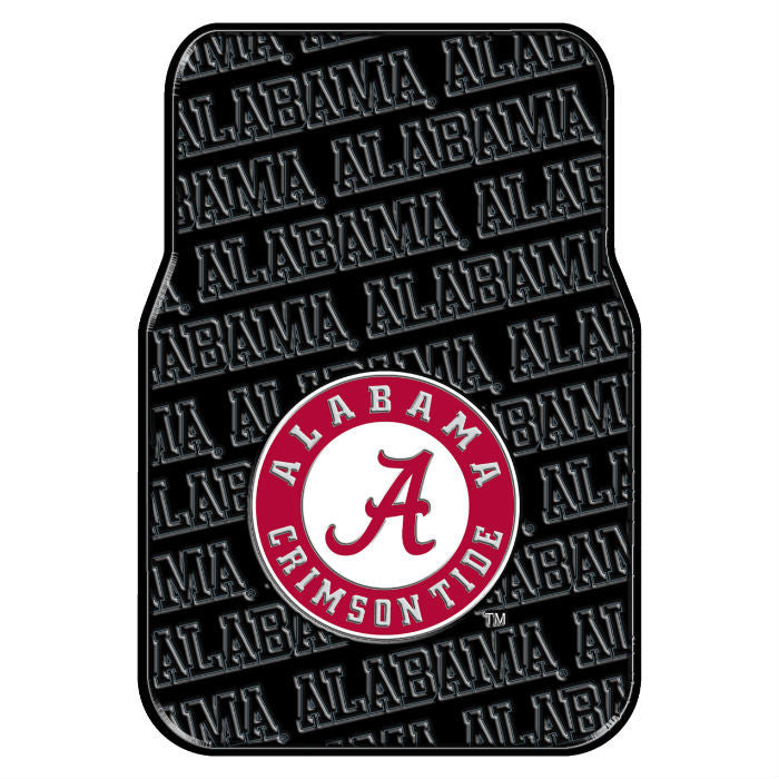 Alabama Crimson Tide Car Floor Mats - SportsFansPlus.com