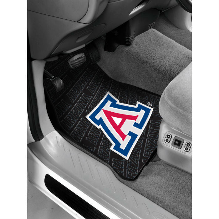 Arizona Wildcats Car Floor Mats - Sports Fans Plus