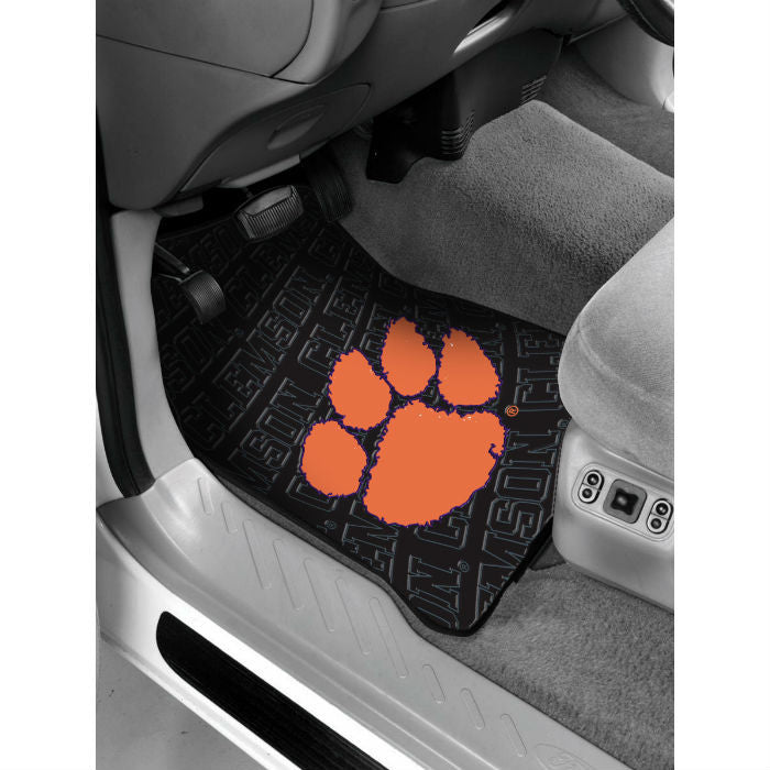 Clemson Tigers Car Floor Mats - Sports Fans Plus