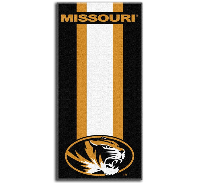 Missouri Tigers Zone Read Beach Towel