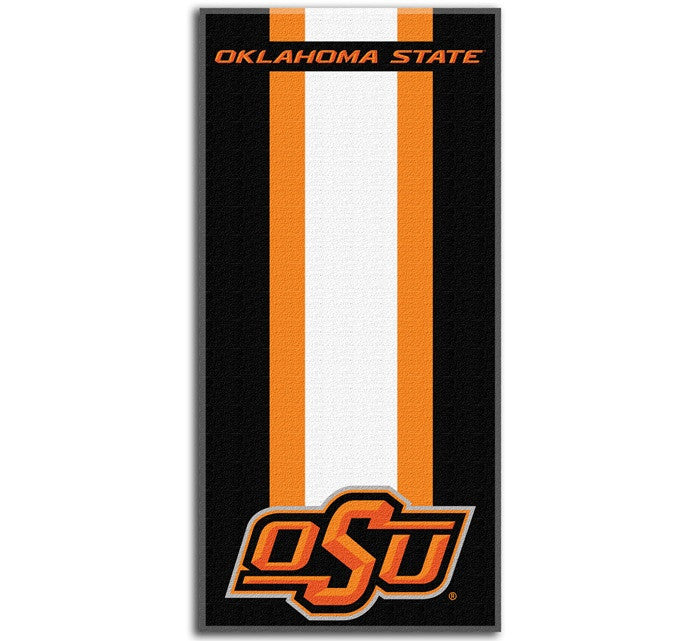 Oklahoma State Cowboys Zone Read Beach Towel