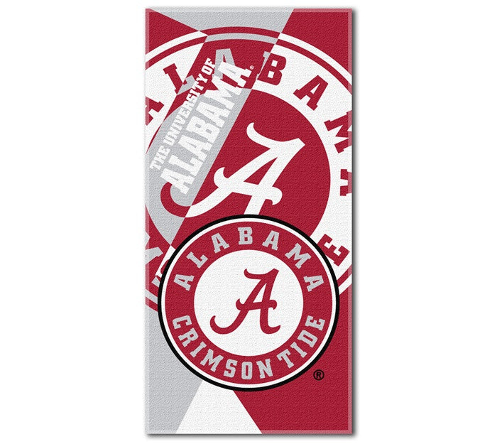 Alabama Crimson Tide Puzzle Beach Towel - SportsFansPlus.com
