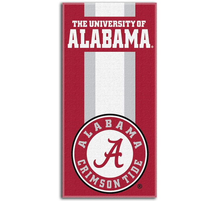 Alabama Crimson Tide Zone Read Beach Towel - SportsFansPlus.com