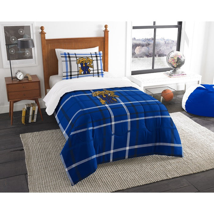 Kentucky Wildcats Twin Comforter Set - Sports Fans Plus