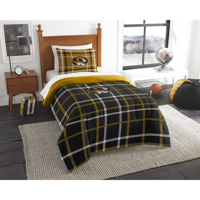 Missouri Tigers Twin Comforter Set