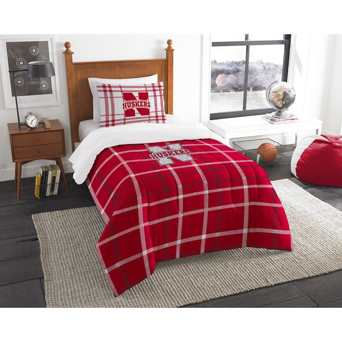 Nebraska Huskers Twin Comforter Set
