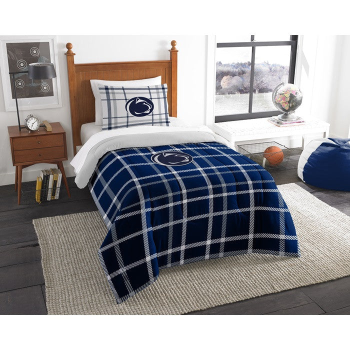 Penn State Nittany Lions Twin Comforter Set - Sports Fans Plus