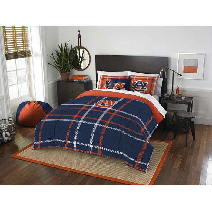 Auburn Tigers Full Comforter Set - Sports Fans Plus