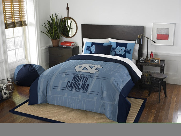 North Carolina Tar Heels Modern Take Full Comforter Set