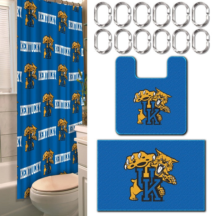 Kentucky Wildcats 15-Piece Bath Set