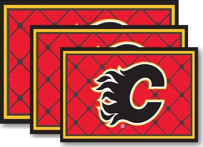 Calgary Flames NHL Area Rugs - Sports Fans Plus