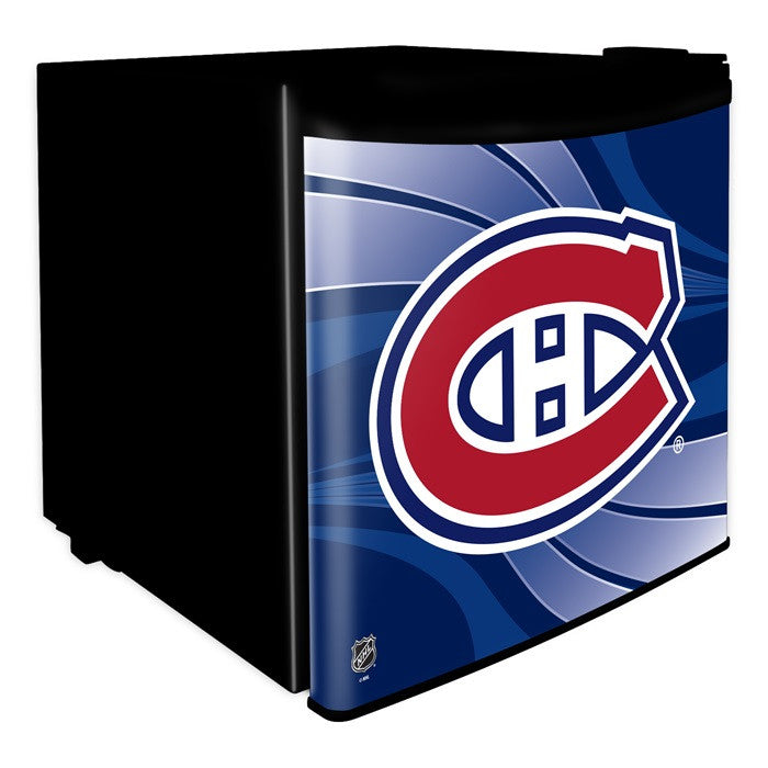 Montreal Canadiens NHL Dorm Room Refrigerator - Sports Fans Plus  - 1