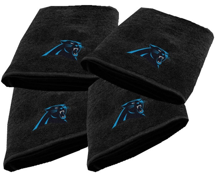 Carolina Panthers NFL Logo Bath Towel - Sports Fans Plus