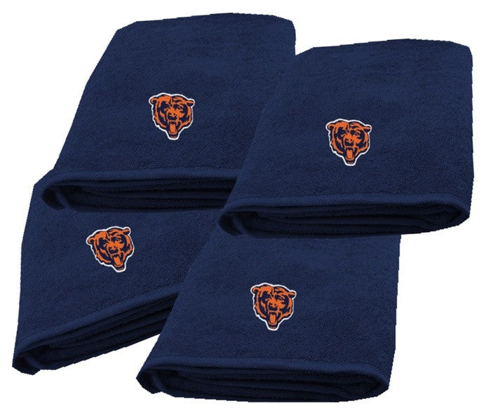Chicago Bears NFL Logo Bath Towel - Sports Fans Plus