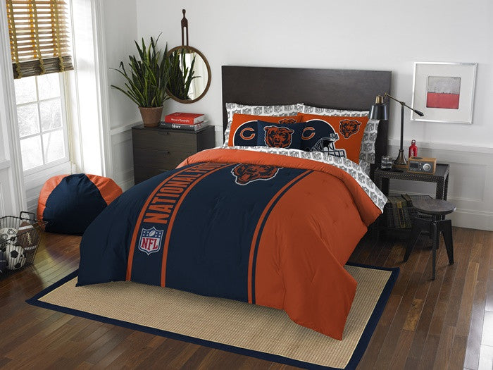 Chicago Bears NFL Full Bed-in-a-Bag with Sheets