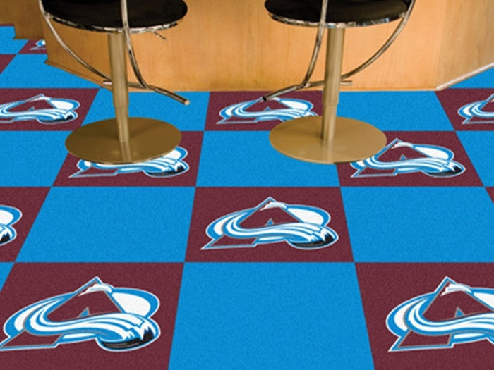 Colorado Avalanche NHL Carpet Tiles - Sports Fans Plus