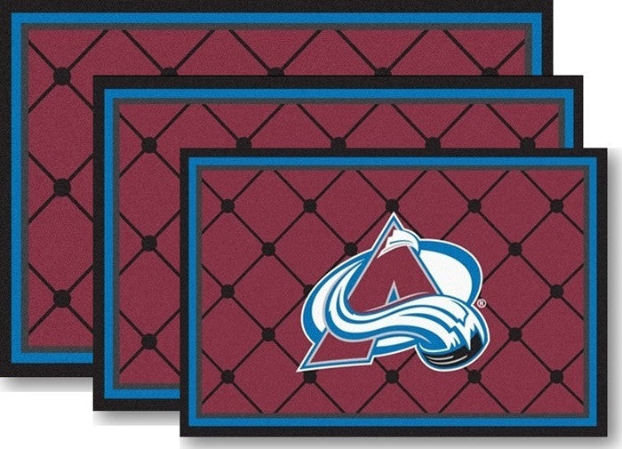 Colorado Avalanche NHL Area Rugs - Sports Fans Plus
