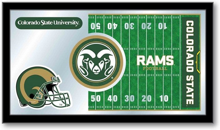 Colorado State Rams Football Team Sports Mirror