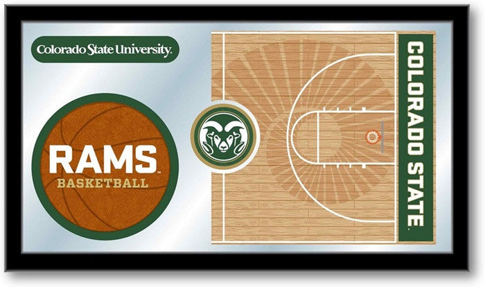 Colorado State Rams Basketball Team Sports Mirror
