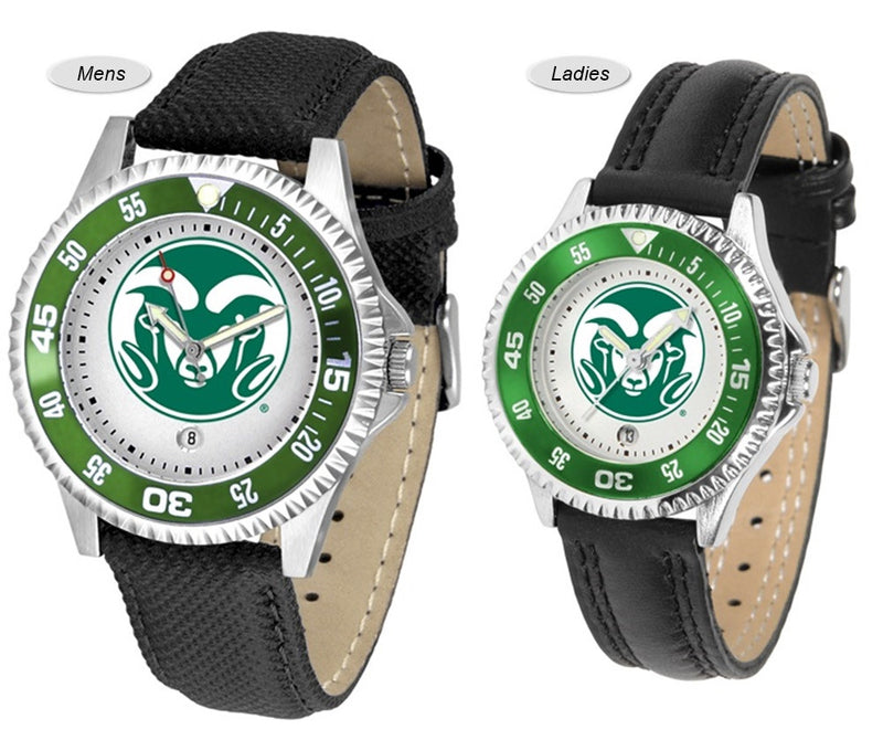 Colorado State Rams Competitor Sport Leather Watch